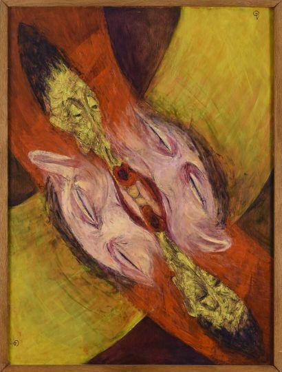 Vincent GONZALEZ (1928-2019)  L'enfer des...