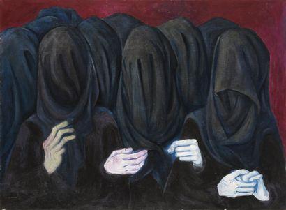 Vincent GONZALEZ (1928-2019)  Les veuves,...