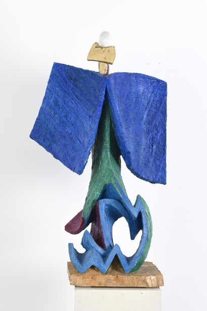 Vincent GONZALEZ (1928-2019)  Oiseau stylisé...