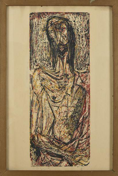 Vincent GONZALEZ (1928-2019)  Christ aux...