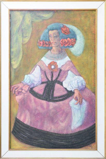 Vincent GONZALEZ (1928-2019)  Dona Marie-Anne...
