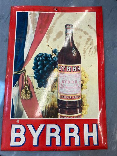 Carton publicitaire BIRRH  55 x 40 cm