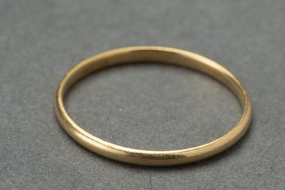 Alliance en or, TDD 53  Poids : 1 gramme