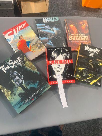 [Bandes-dessinées]. Un lot de 6 bandes-dessinées...
