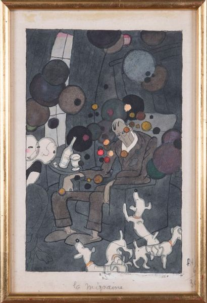 Gustave BLANCHO dit GUS BOFA (1883-1968)