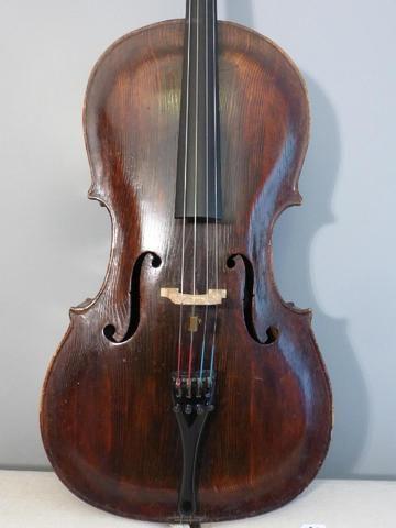 Violoncelle 7/8 18ème siècle, tyrolien en...
