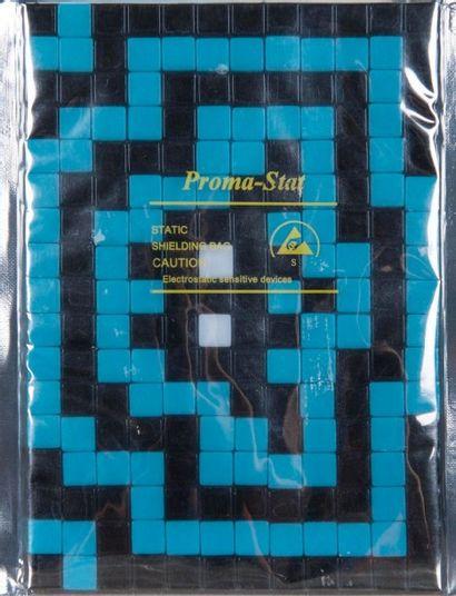 SPACE INVADER (1969) Exceptionnel collection de 13 kits d'invasion en mosaîque.La...