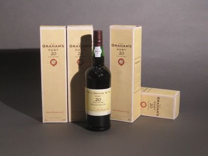 4 B PORTO 20 ANS D'AGE (étui) mise en bouteille...
