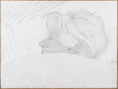 Fabio RIETI (né en 1927) Dormeuse Peinture...