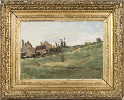 Camille MOREAU NELATON (1840-1873) Paysage...