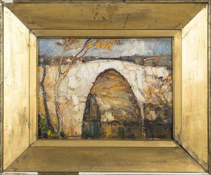 Louis PASTOUR (1876-1948) Le pont d'or, 1920...