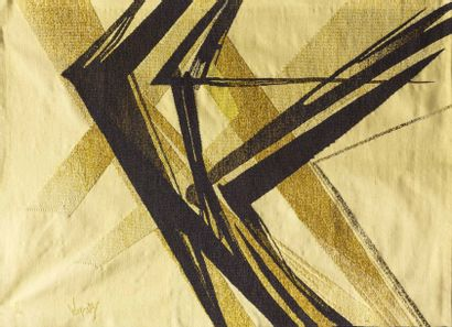 Robert WOGENSKY (né en 1919) Grand vol roux...