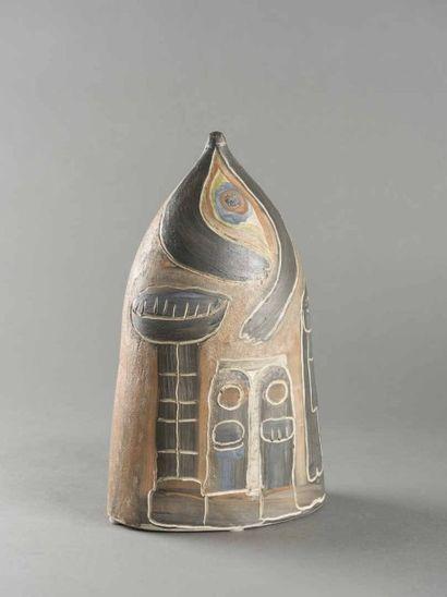 Jules AGARD (1905-1986) Céramique en terre...