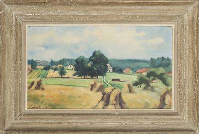Charles PICART LE DOUX (1881-1959) Paysage...