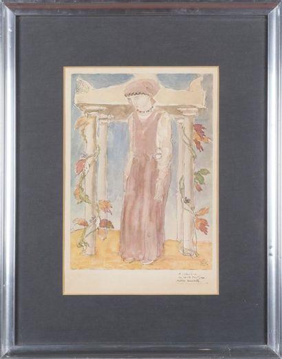 Émile Antoine BOURDELLE (1861- 1929) Cleopatra...