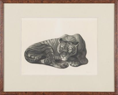 Georges-Lucien GUYOT (1885-1937) : Tigre...
