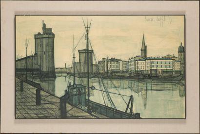 Bernard BUFFET Port de la Rochelle Reproduction...