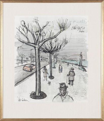 Violette MILLIQUET (1896-1982) Les Arbres...