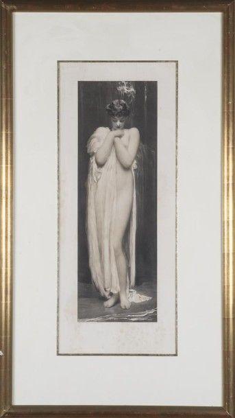 Lord Leighton (XXème siècle) The Nymph Gravure...