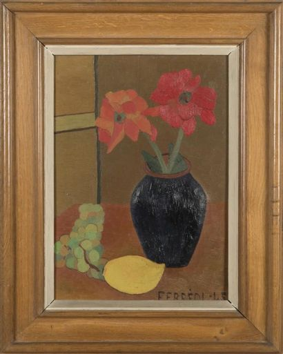 Maurice FERREOL (1906-1969) Nature morte...