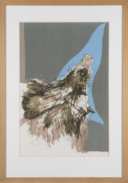 MEHEY (XXème) Lithographie en couleur 38/125...