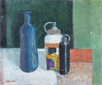Violette MILLIQUET (1896-1982) Nature morte...
