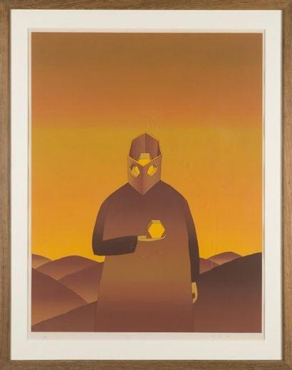 Jean-Michel FOLON (1934-2005) Lithographie...