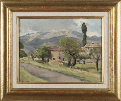 Paul SURTEL (1893-1985) Ferme de Thoard (B-A)...