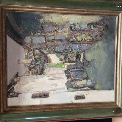 JR MONDET (XXème siècle) Rue des Adobeurs...
