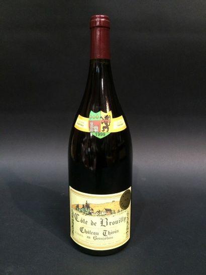 1M Côte de Brouilly 1999 Château de Thiv...