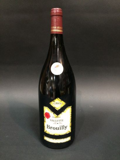 1Mag Brouilly 2013 Domaine Vallette