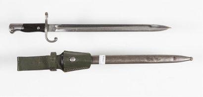 Baïonnette porte épée type Mauser Argentine,...