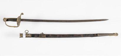 Epée d'officier marine modèle 1837