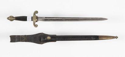 Dague de pompier Napoléon III L : 64 cm