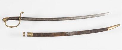 Modèle 1821, sabre officier d'infanterie...
