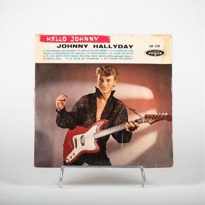 25 T - Hello Johnny - Johnny Hallyday Vogue...