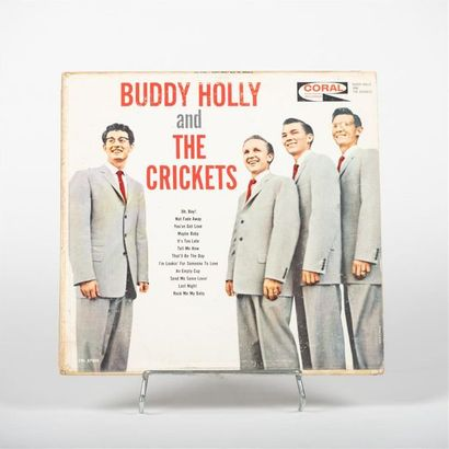 Buddy Holly and the Crickets Vinyle CRL ...