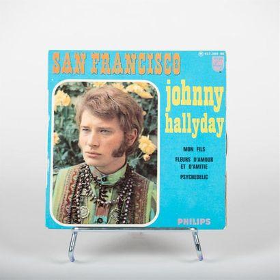 45 T - San Francisco - Johnny Hallyday Philips...