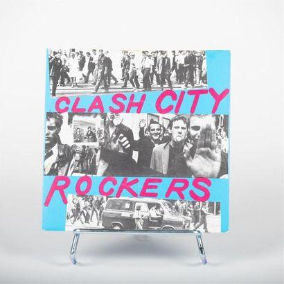 Clash city Rockers - The Clash Vinyle S CBS...