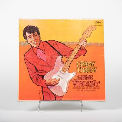 Crazy Times - Gene Vincent Vinyle T 1342