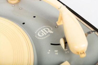 Tourne disque G.I.D. (Guilde Internationale du Disque ; Paris, Evreux) Années 1...