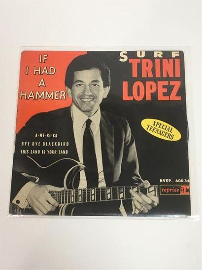 Trini LOPEZ, If I had a hammer, 45T quatre titres RVEP.600 34