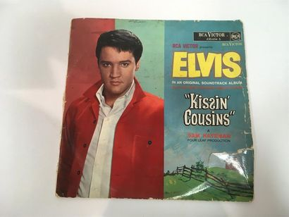 Elivs PRESLEY Kissin Cousins Vinyle, 33 tours...