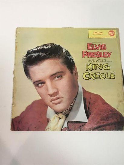 Elvis PRESLEY, King Creole, 33 T (petits...