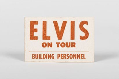 Badge Elvis On Tour