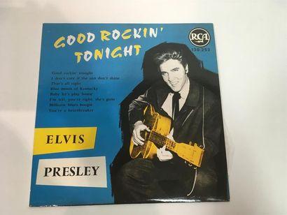 Elvis PRESLEY Good rocking Tonight Vinyle,...