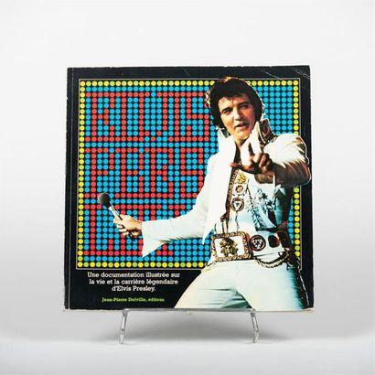 Livre Elvis Presley / Jean-Pierre Delville
