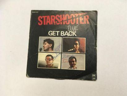 STARSHOOTER Get Back vinyle 45T Pochette...