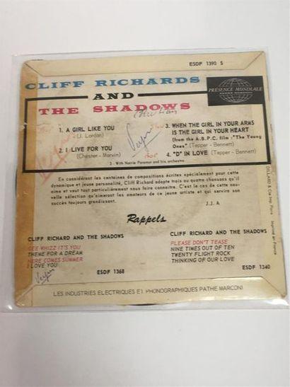 Cliff RICHARD, A girl like you, 45T (quatre titres) ESDF 1390
