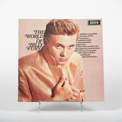 The world of Billy Fury - Billy Fury Vinyle...